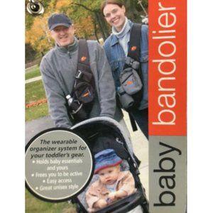 Baby Bandolier Diaper Bag Sling Organizer